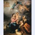 The holy family the seville virgin