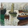 Llegada de veleros