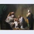 Jacob blessing ephraim and manasseh