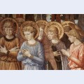 Angels worshipping detail 2