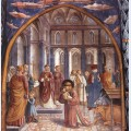 Establishment of the manger at greccio