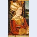 Portrait of sibylla or sybilla von freyberg born gossenbrot