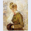 Winter aka woman with a muff