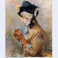 Woman wearing gloves aka the parisian