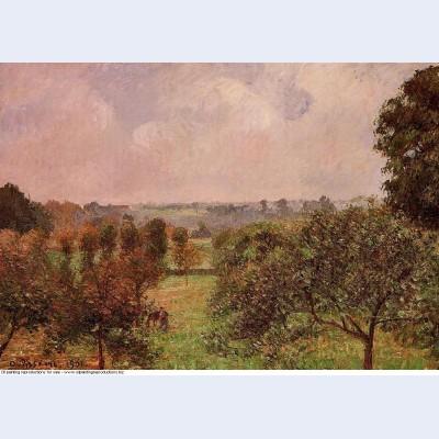 After the rain autumn eragny 1901