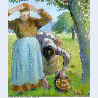 Apple gatherers 1891