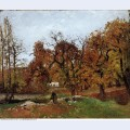 Autumn landscape near pontoise