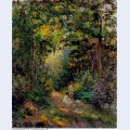Autumn path through the woods 1876