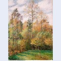 Autumn poplars 1893