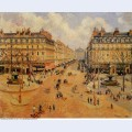 Avenue de l opera morning sunshine 1898