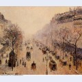 Boulevard montmartre morning sunlight and mist 1897