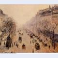 Boulevard montmartre morning sunlight and mist 1897