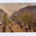 Boulevard montmartre spring 1897 1
