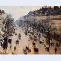 Boulevard montmartre winter morning 1897