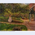 Corner of the garden in eragny 1897