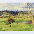 Field at eragny 1885