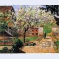 Flowering plum tree eragny 1894