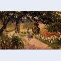 Garden at eragny 1899