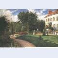 Garden of les mathurins 1876