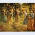 Harvest at eragny 1901