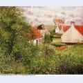 Houses at knocke belgium 1894