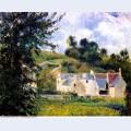 Houses of l hermitage pontoise 1879