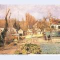 Kitchen garden at the hermitage pontoise 1874