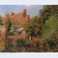 Kitchen garden in eragny afternoon 1901