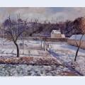 L hermitage pontoise snow effect 1874