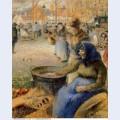 La marchande de marrons fiore de la st martin pontoise 1881