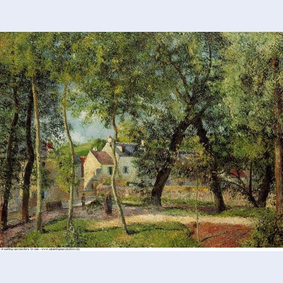 Landscape at osny near watering 1883