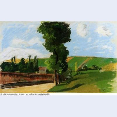 Landscape at pontoise 2