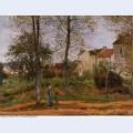 Landscape near louveciennes 2 1870