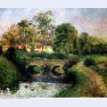 Little bridge on the voisne osny 1883