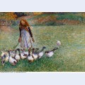 Little goose girl 1886