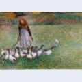 Little goose girl 1886
