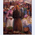 Market at pontoise 1895