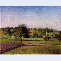 Meadows at eragny 1886