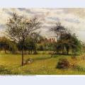Morning autumn sunlight eragny 1900