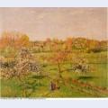 Morning flowering apple trees eragny 1898