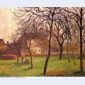 Mother lucien s field at eragny 1898