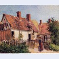 Old houses at eragny 1884
