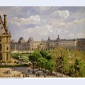 Place du carrousel the tuileries gardens 1900