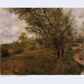 Pontoise landscape through the fields 1879