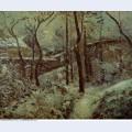 Poor footpath pontoise snow effect 1874