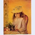 Portrait of jeanne 1872