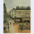 Rue saint honore afternoon rain effect 1897