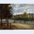 The banks of the oise at pontoise 1870