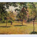 The barn morning eragny 1893