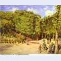 Town garden in pontoise 1873